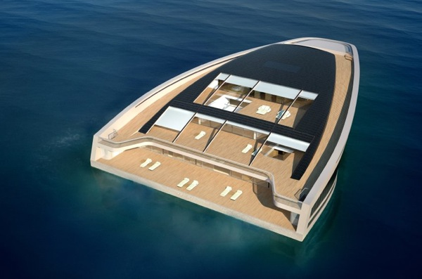 Яхта-остров WHY 58x38